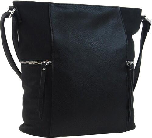 -10% New Berry Černá dámská crossbody kabelka s bočními kapsami AE-9025 af209914956