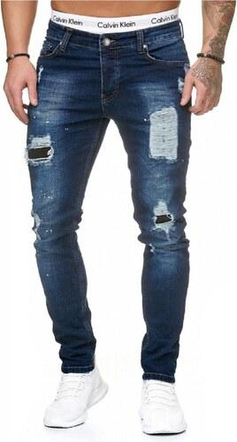 fcfd29d0c85 Pánské roztrhané džíny slim fit RJ-5092 - Glami.sk