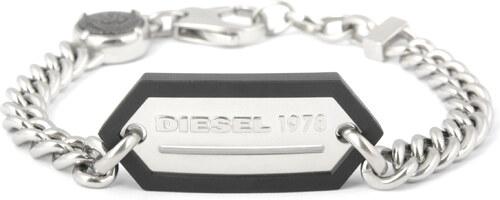 Pánský náramek z chirurgické oceli Diesel DX0992 - Glami.cz 918daf251a
