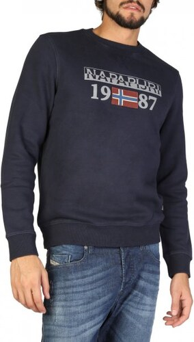Napapijri pánská mikina M tmavě modrá - Glami.cz 876ad859021