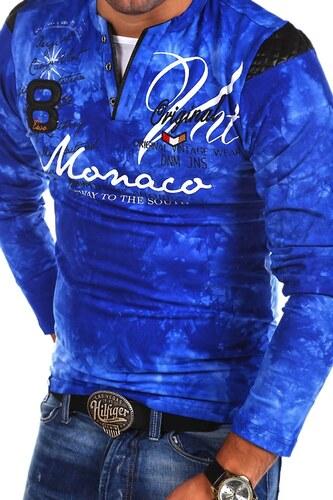 876ff82af10 MyTrends Pánské tričko Violento P-MONACO model R-0760 - Glami.cz