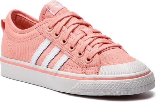 136d08b3754 Boty adidas - Nizza W D96554 Trapnk Ftwwht Crywht - Glami.cz