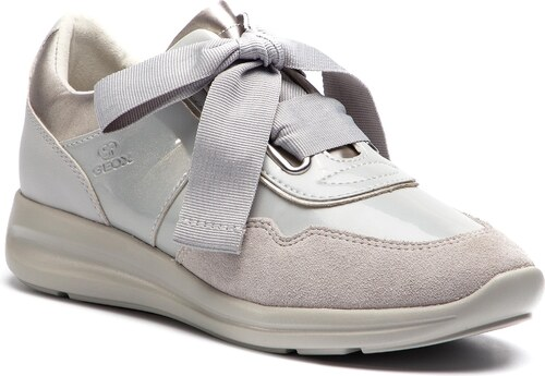 Sneakersy GEOX - D Agyleah A D926CA 0HI22 C1010 Lt Grey - Glami.cz 489a0db84b