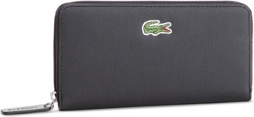 Veľká Peňaženka Dámska LACOSTE - L Zip Wallet NF2285PO Black 000 ... 173068b7e3c