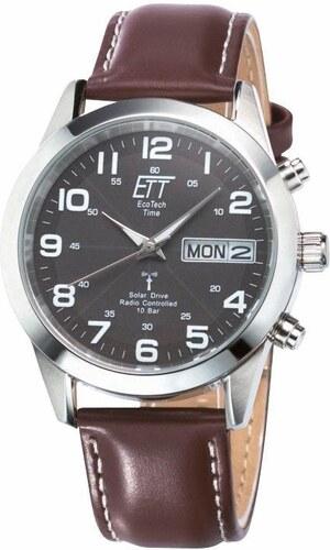 ETT Náramkové hodinky hnedá - Glami.sk ce0ab1c25f0
