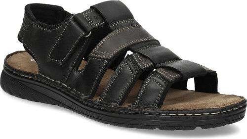 53171a81ef03 Baťa Pánske letné sandále z brúsenej kože - Glami.sk
