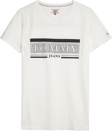 7510d156d6 Tommy Hilfiger Dámské tričko Tommy Jeans - Glami.cz