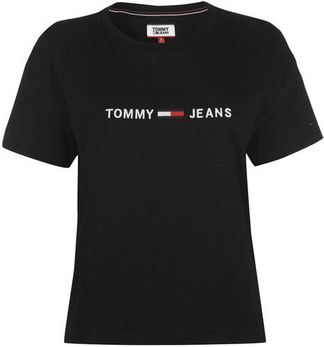 Tommy Hilfiger Dámské tričko Tommy Jeans - Glami.cz 1ff97cacf2f