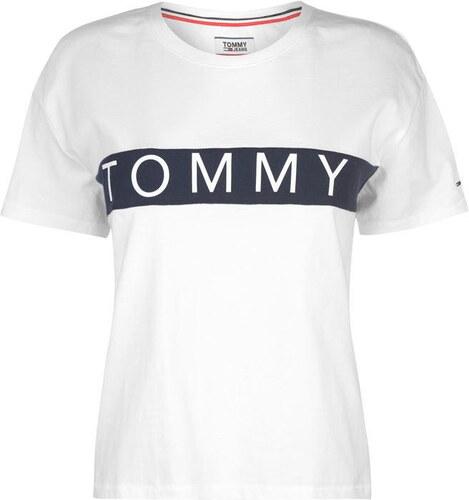 Tommy Hilfiger Dámské tričko Tommy Jeans - Glami.cz 8716745a901