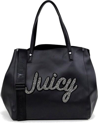 ad9158c59 Juicy Couture velká černá kabelka přes rameno - Glami.cz