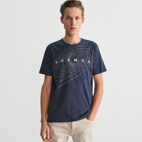 9bff32104f Reserved - Űrmintás T-shirt - Tengerészk - Glami.hu
