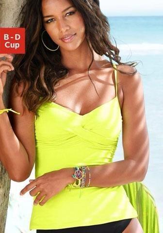 52218e187 s.Oliver RED LABEL Beachwear Tankiny s kosticami »Spain« limetková ...