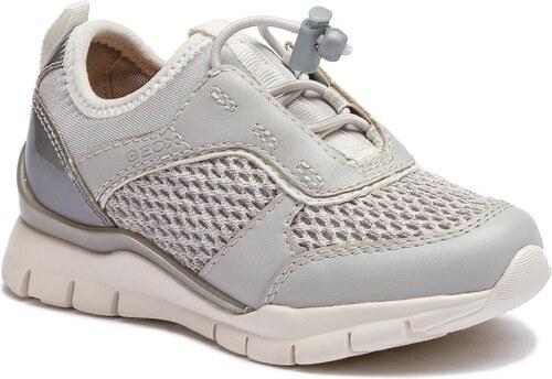 Sneakersy GEOX - J Sukie G. A J723GA 01454 C1010 Lt Grey - Glami.cz 2ebe8de615