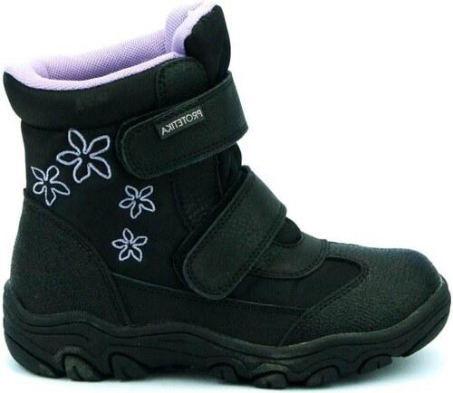 af77c15f37 Protetika Dievčenské zimné topánky Koba - čierne - Glami.sk
