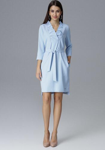 79617d50524c FIGL Modré šaty s mašľou M644 Blue - Glami.sk