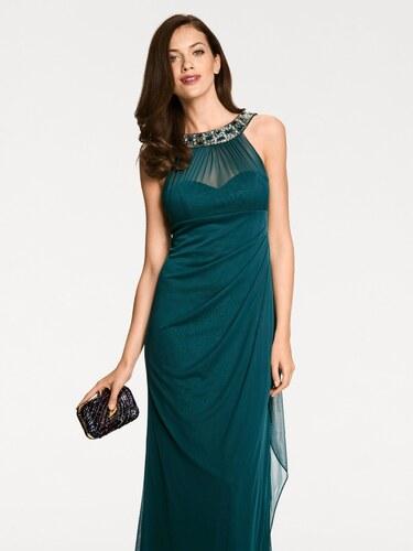 heine TIMELESS Večerné šaty s aplikáciami smaragdová - Glami.sk 571ed807df7
