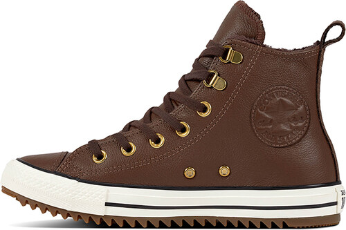 Converse Dámske hnedé kožené vysoké tenisky Chuck Taylor All Star Hiker Boot 7e07d0cf7c