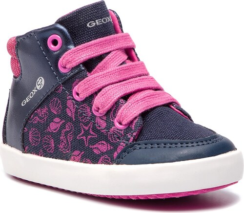 Nové Kotníková obuv GEOX - B Gisli G. A B841MA 0BCEW C4268 M Navy Fuchsia 85768dc911