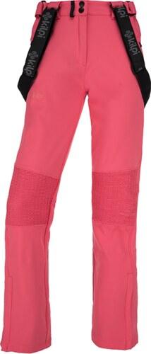 04b8a44f54b0 Dámske lyžiarske softshellové nohavice KILPI DIONE-W Ružová 19 ...