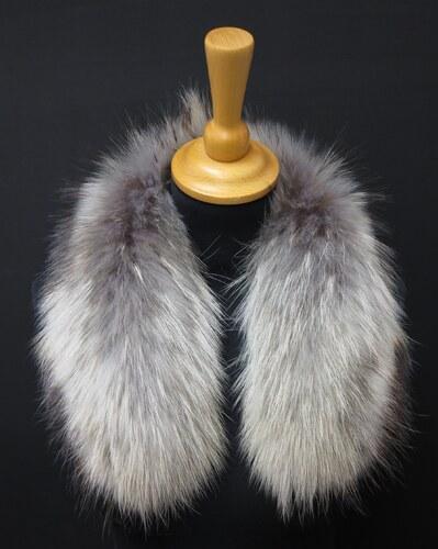 Špongr Kožešinový lem   límec na kapuci z finského mývalovce 6060 ARKTIK 2.  JAKOST 60 131817f7a0