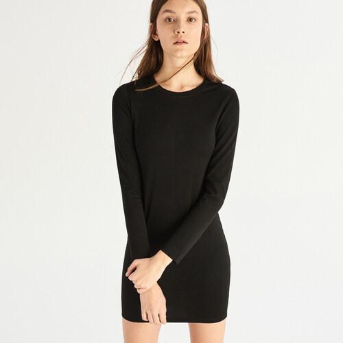 Sinsay - Šaty so dlhými rukávmi - Čierna - Glami.sk 81853d8c0d0