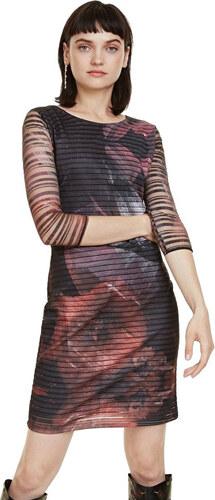 2ee8384db42a -50% Desigual Dámské šaty Vest Rosa Glam Rosa Glamour 18WWVK67 3044