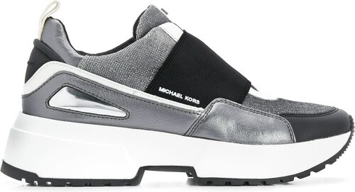06d8e8c925 -30% Michael Michael Kors elasticated panel Cosmo sneakers - Metallic