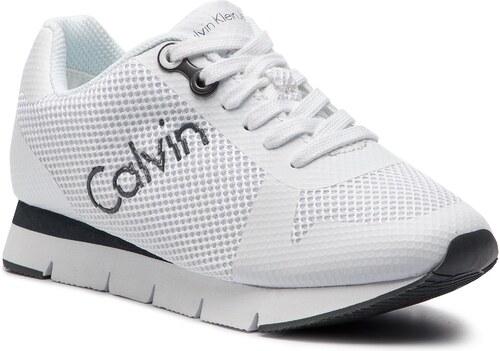 7f32741d02 Sportcipő CALVIN KLEIN JEANS - Taline R4113 White - Glami.hu