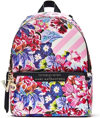 d59aae00122 Nové Mary Katrantzou city backpack batůžek pro Victoria´s Secret pink stripe