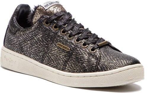 Sneakersy PEPE JEANS - Brompton Cock PLS30737 Black 999 - Glami.cz 21ed5f701b