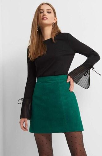 ceb5eb11bd87 ORSAY Rozšírená sukňa z eko-semišu - Glami.sk