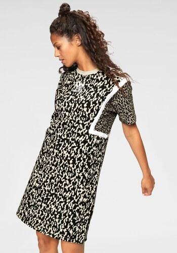 7c9fa1173b75 adidas Originals Žerzejové šaty »LEOFLAGE TEE DRESS« leopardí vzor ...