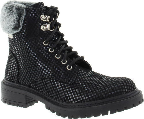 724494e652 PEPE JEANS Dámská kotníková obuv black PLS50337-BLACK-365 - Glami.cz