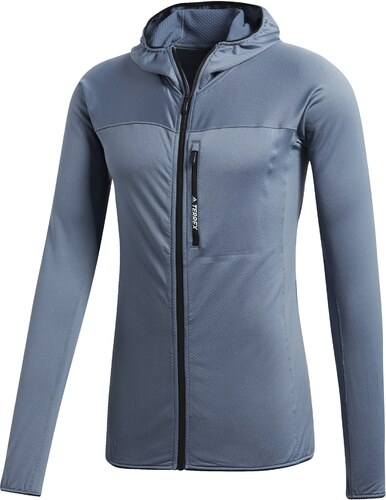 b4fdc15ccb Adidas TraceRocker Hooded Fleece Jacket - Glami.sk
