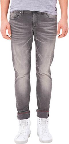 8149b93021 s.Oliver Pánske sivé nohavice Skinny dĺžka 32 - Glami.sk