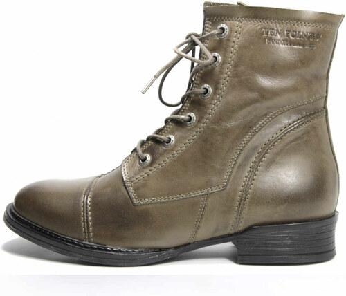 Ten Points dámská kotníková obuv PANDORA green - Glami.cz e925118f59