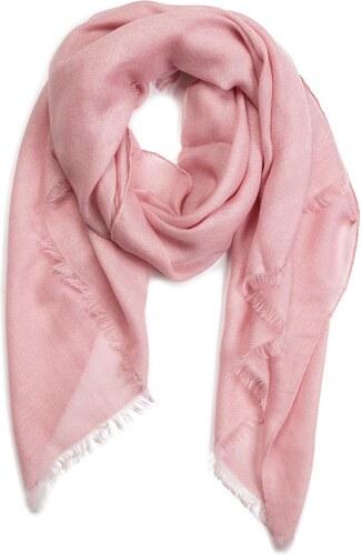 d55d3bc325 Šál CALVIN KLEIN - Sparkling Scarf K60K604908 Pastel Pink 639 - Glami.sk