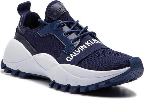 e53ac1f995 Sportcipő CALVIN KLEIN JEANS - Talula R7813 Navy - Glami.hu