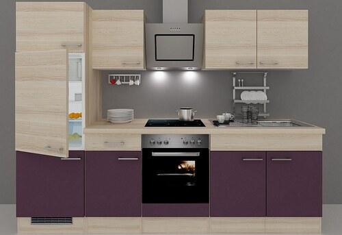 Küchenzeile mit E-Geräten »Portland«, Breite 270 cm, Set 3