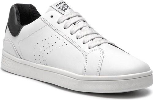 Nové -40% Sneakersy GEOX - J Djrock B. C J825VC 043BC C1351 D Off W hite  f373fbd4e1