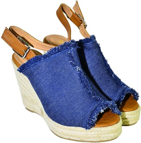 e7ab6922e570 COMER Dámske tmavomodré sandále KATHIN 36 - Glami.sk