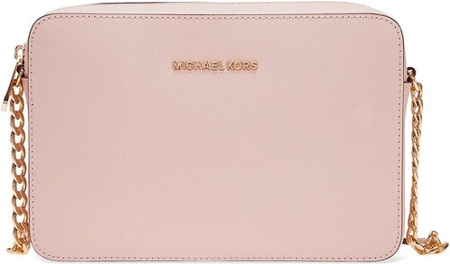 -17% Michael Kors Jet Set Large Saffiano Leather Crossbody Soft Pink 5544310cfc0