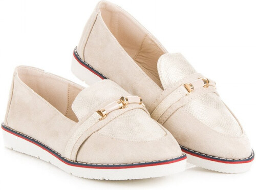 363fe150355 BEIGE LOAFERS VICES - Glami.hr