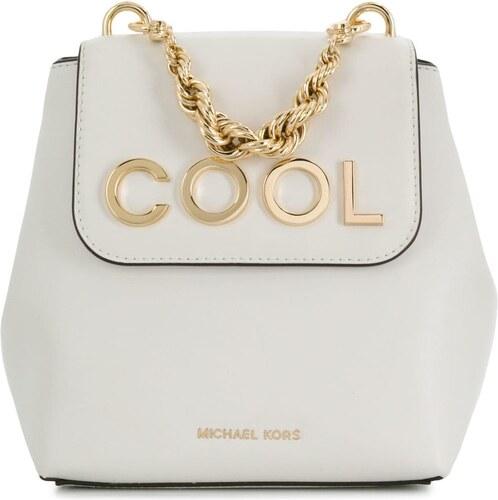 30995f4429 -19% Michael Michael Kors Mott extra-small embellished backpack - White