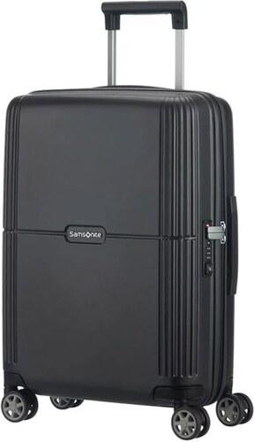 b78322b115 Samsonite Orfeo spinner (4 kerék) 55cm fekete kabin bőrönd - Glami.hu