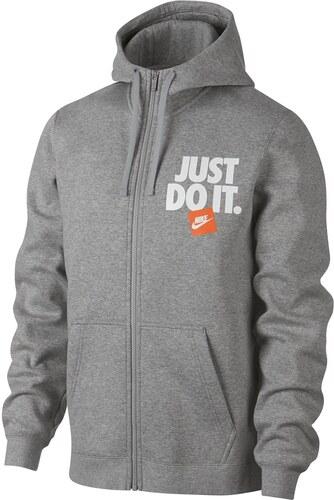 Mikina Nike Just Do It Zip Hoody Mens - Glami.cz f296707766b