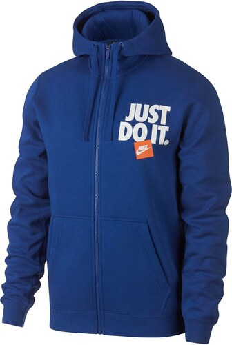 Nike Just Do It Zip Mikina s kapucí Mens - Glami.cz bd5b05574fb