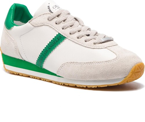 Sneakersy GUESS - FM6GLR LEA12 GREEN - Glami.cz 13ea496fbd