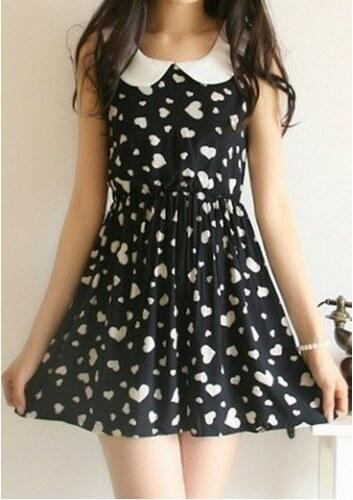 Dámské letní šaty Sime černé - černá