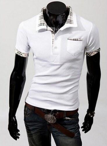 Pánské tričko Polo 2013 bílé - bílá